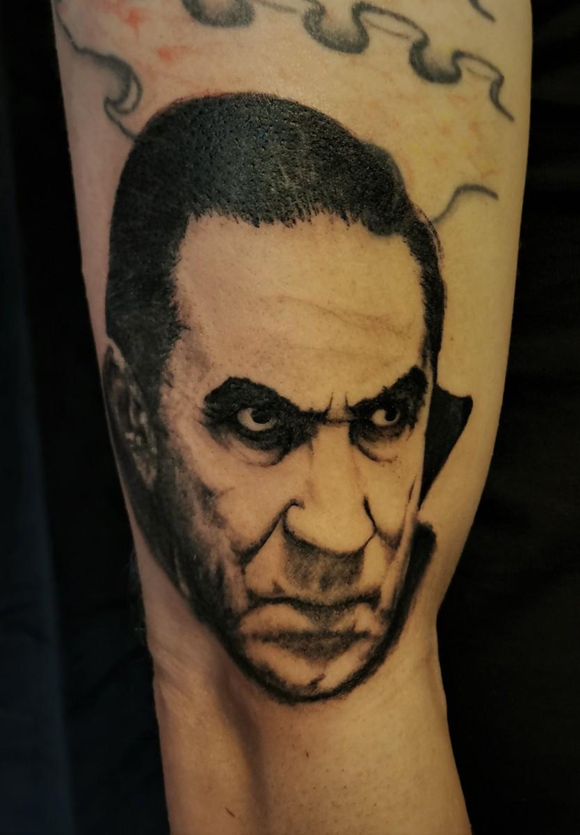 Bela Lugosi - Dracula Tattoo