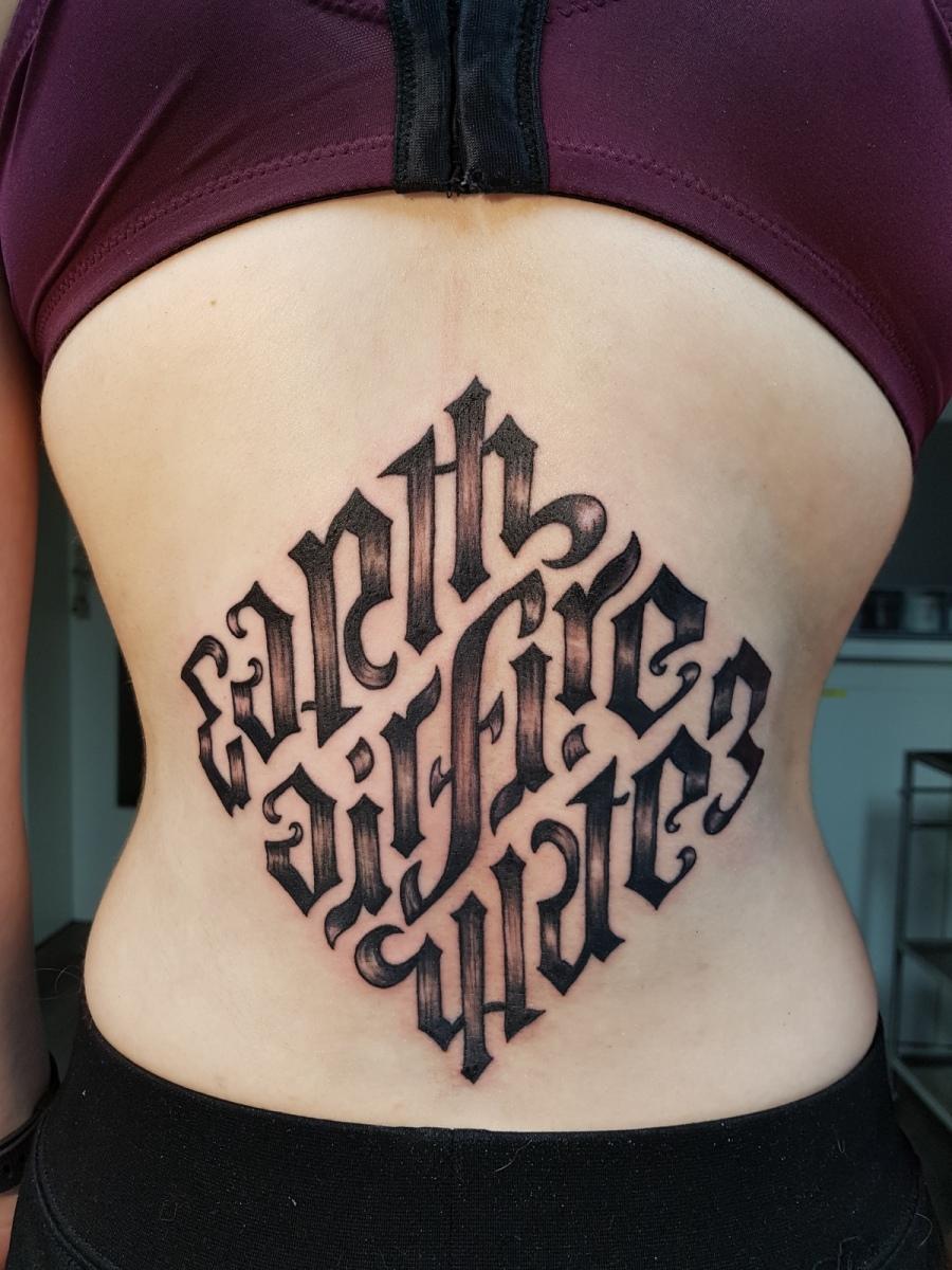 Ambigram von The  Da Vinci Code