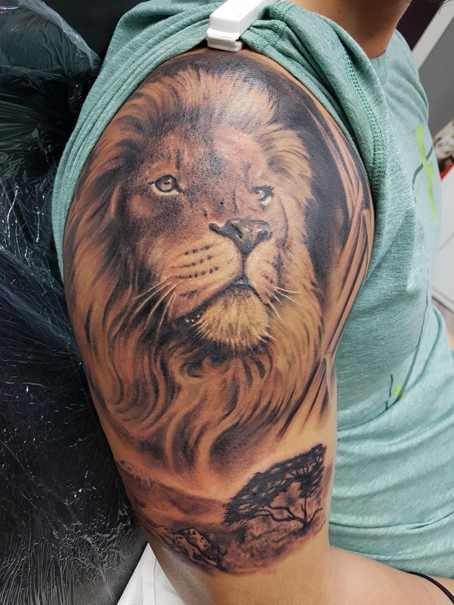 Löwen Tattoo No. 21