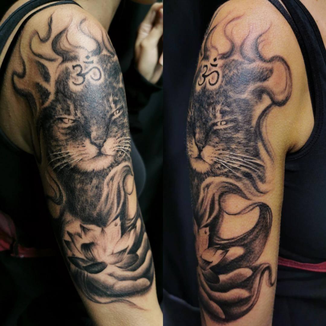 Zen-Katzen Tattoo