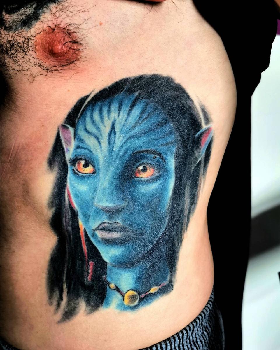 Avatar Tattoo (abgeheilt)