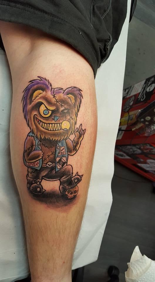 Metalteddy-Tattoo