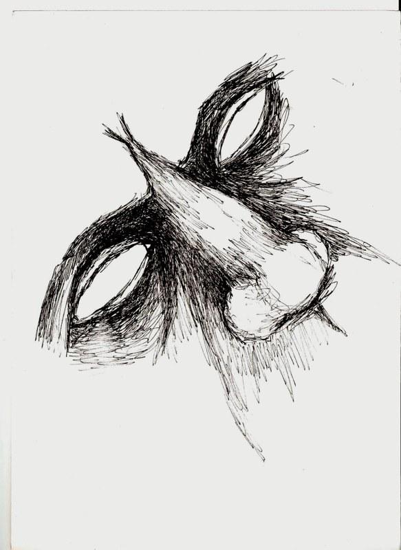 Abstrakte Augen