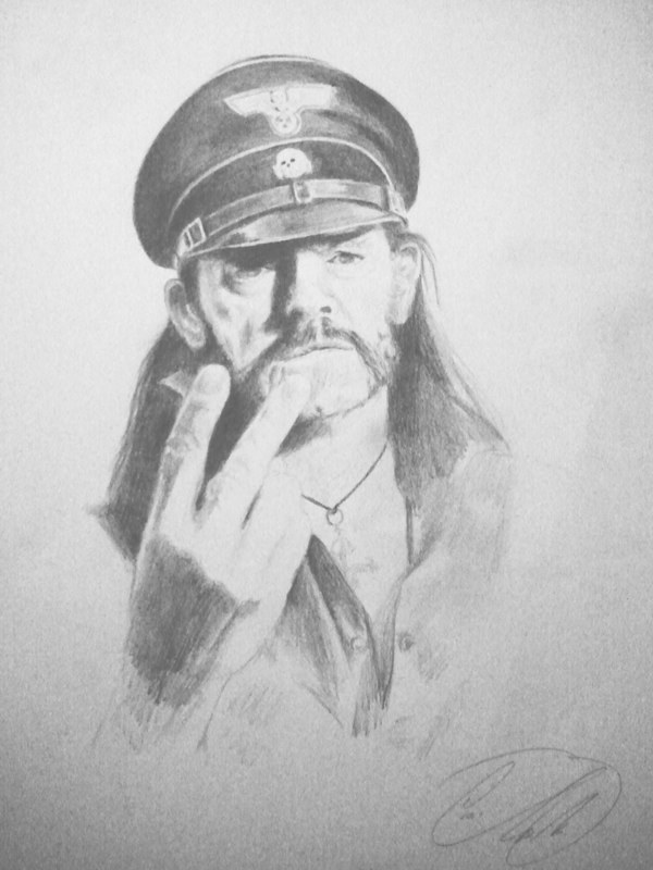 Porträt Lemmy Kilmister - Motörhead