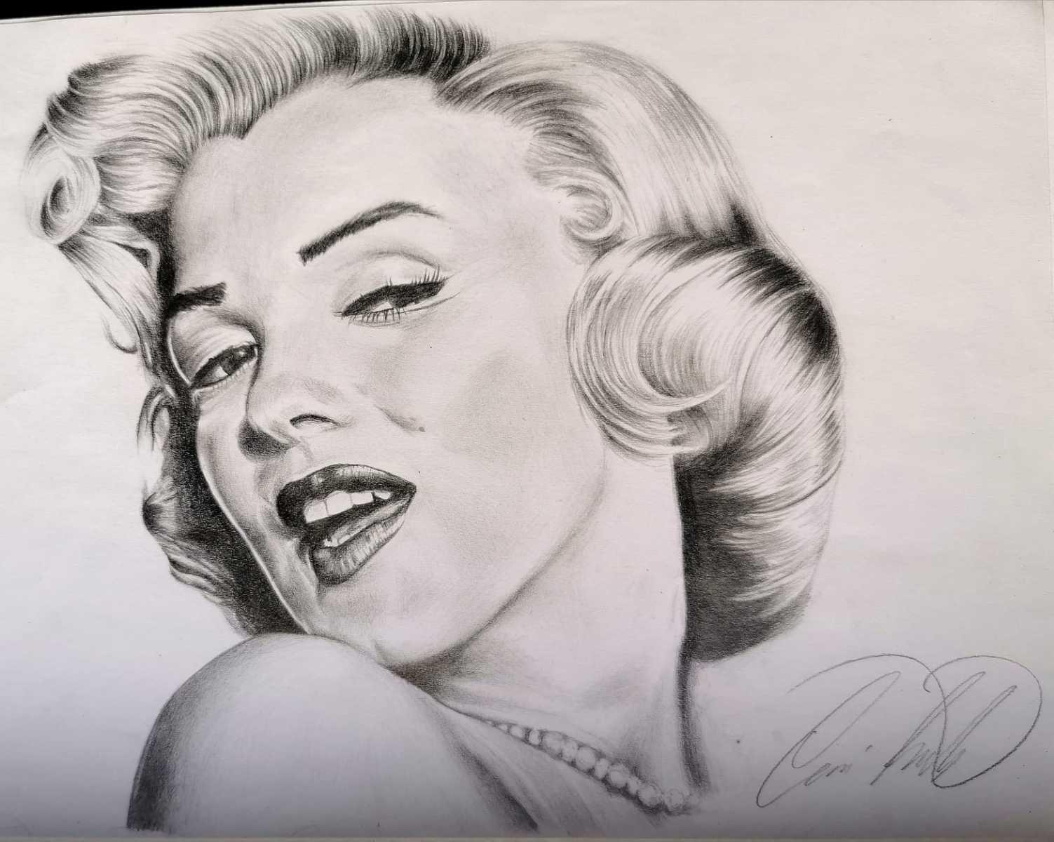 Porträt Marilyn Monroe