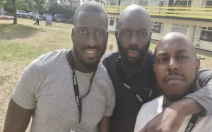 David, Wayne and Another Man