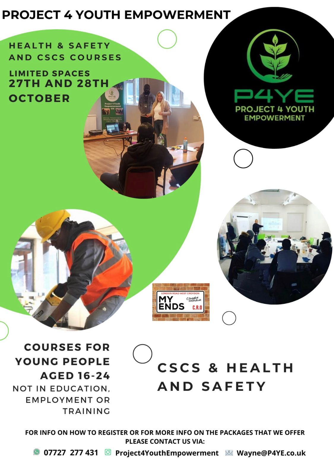 p4ye health and safety