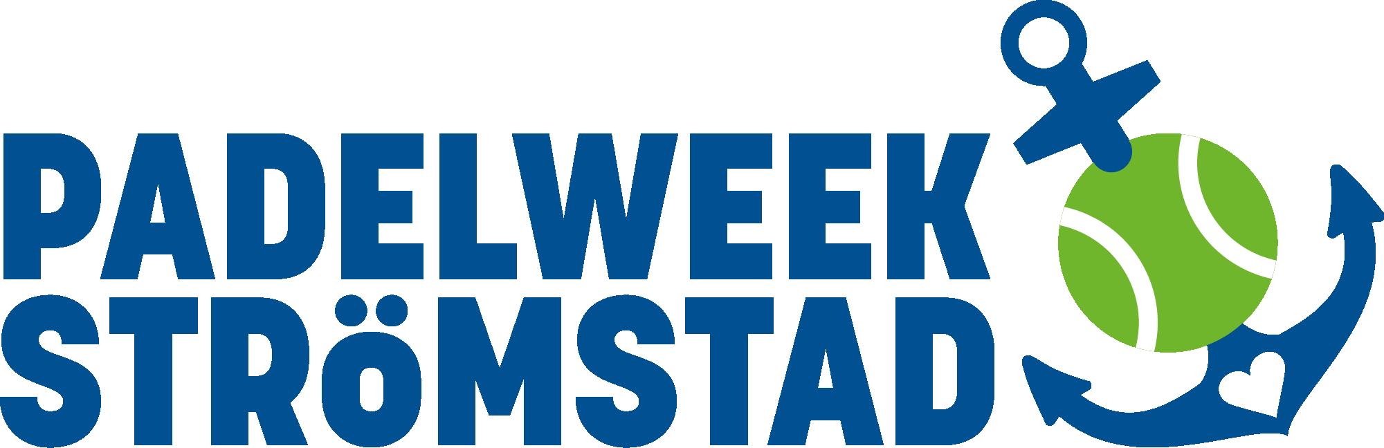 Padelweek Strömstad Logo