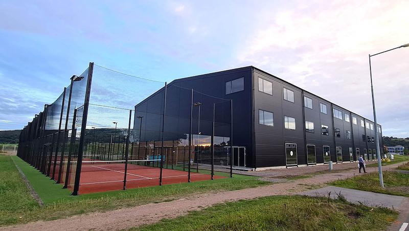 Nytt padelcenter i Båstad