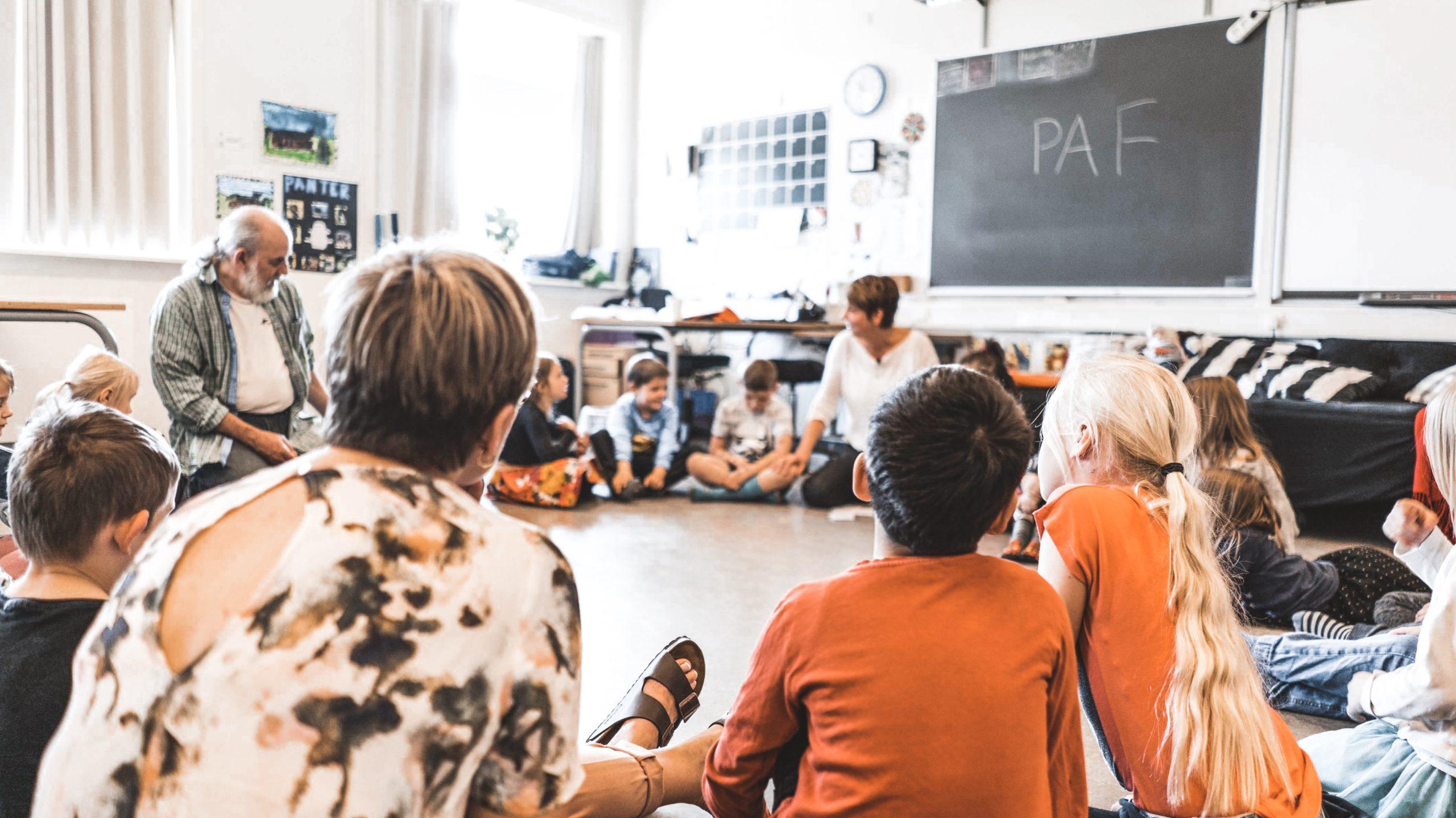 PAF cirklen · PAF i skolen