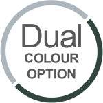 dual colour Aluminium Sliding doors