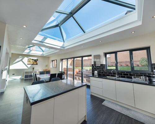 Roof Lantern | Flat Skylight | PDC