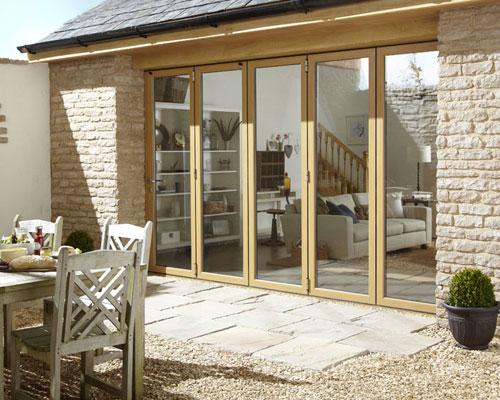 Aluminium Bi Fold Doors Swindon