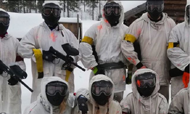 Paintball vinter åre
