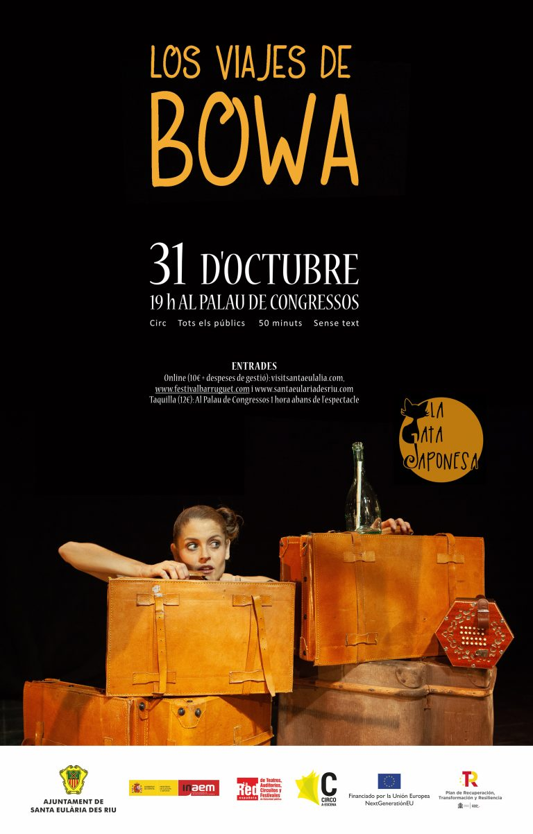 LOS VIAJES DE BOWA - Festival Barruguet