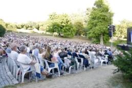 Publikum under forestilling