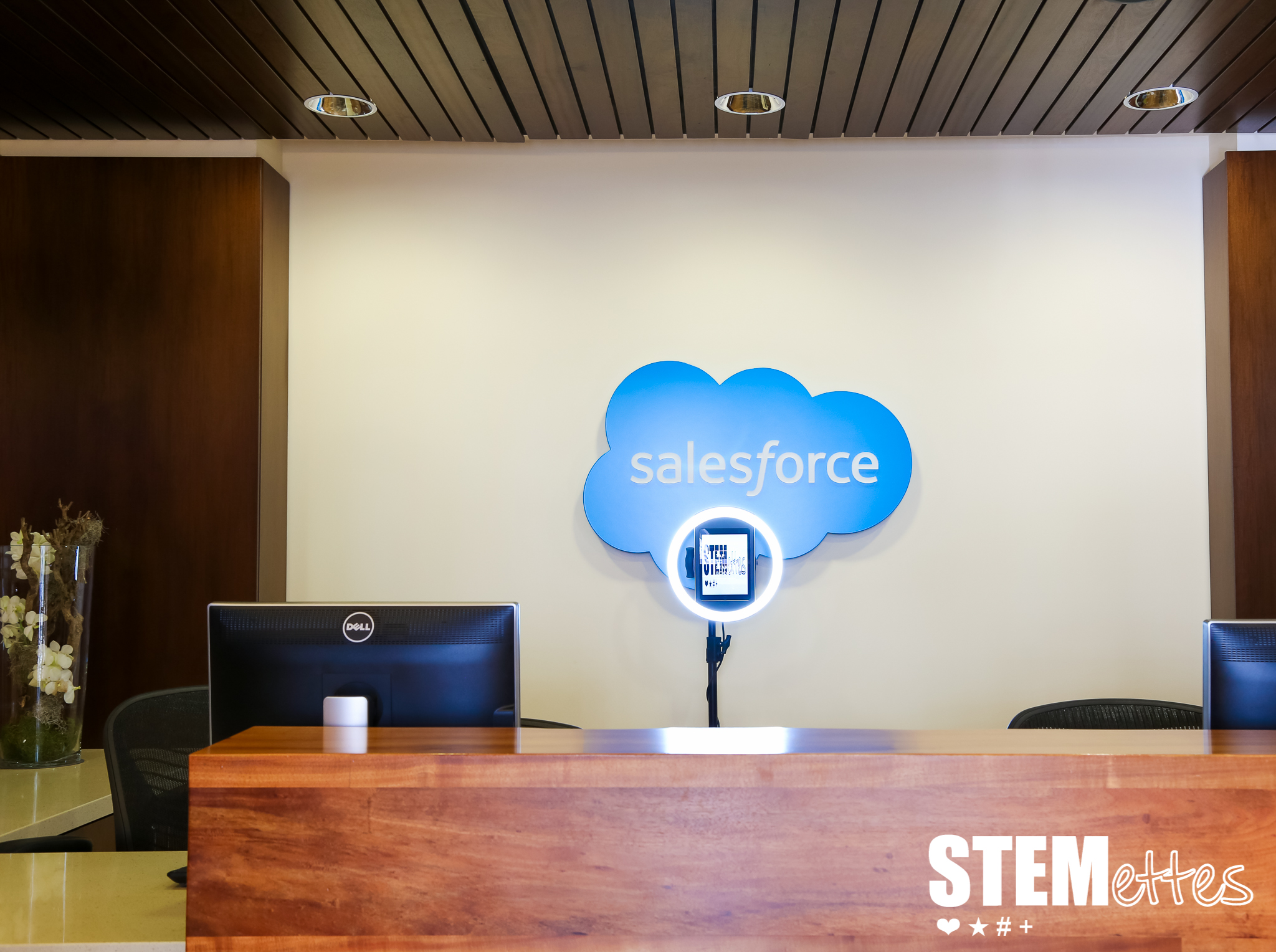 Paparazzi VIP GIF Photo Booth installed at the Salesforce London Offices for a private corporate event