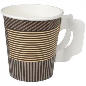 Kaffekop med print og hank 18 cl