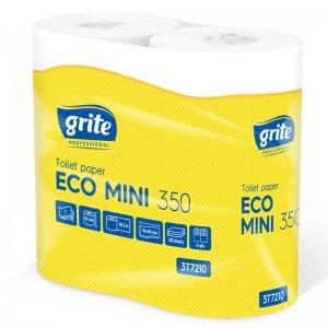 Toiletpapir - Grite Eco Mini 350 - 2-lags