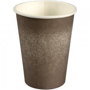Kaffebæger - grå grafik - Svanemærket og FSC mærket - 36 cl