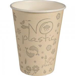 Kaffebæger uden plastik - 100% plastikfri - 100% bio - 36 cl