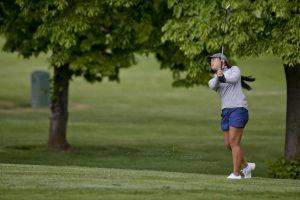 Modelfoto af golfpige