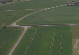 Området set fra Drone