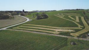 ParkgolfBornholm set fra drone
