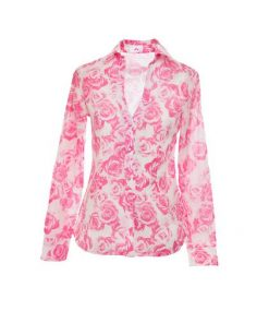 Pink viscose blouse