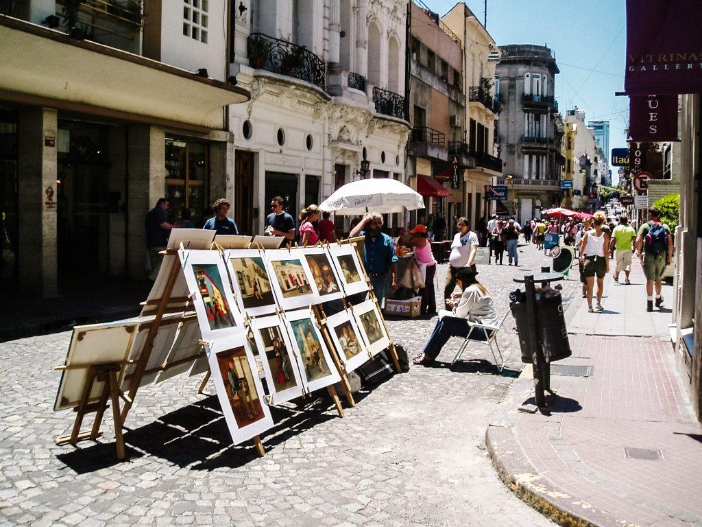 Argentinië bezienswaardigheden Buenos Aires san telmo