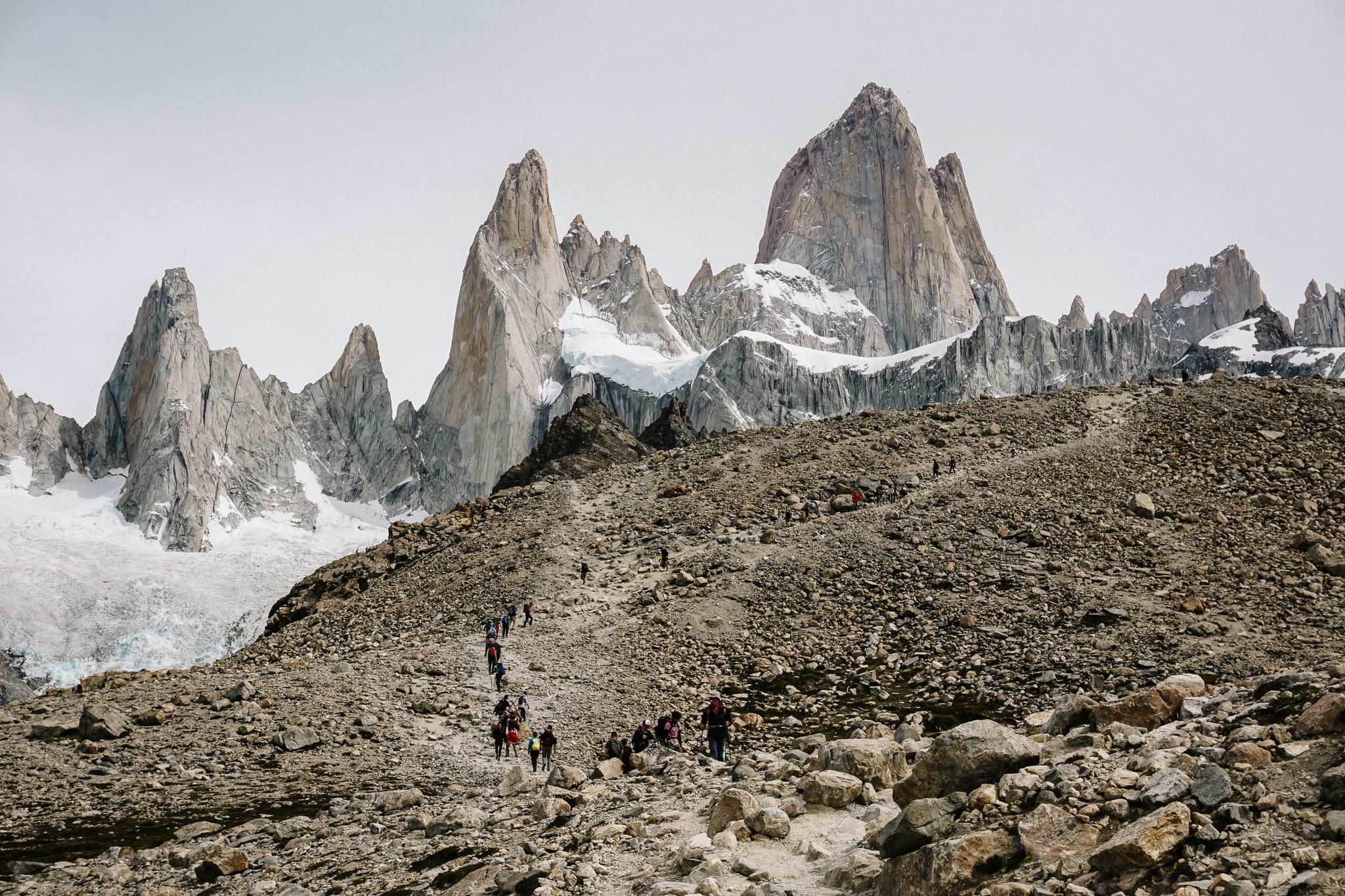Argentinie natuur in El Chalten