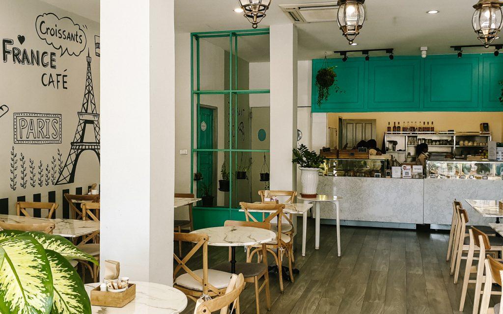 Vientiane cafes