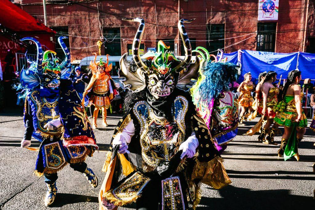 Bolivia carnival & traditions