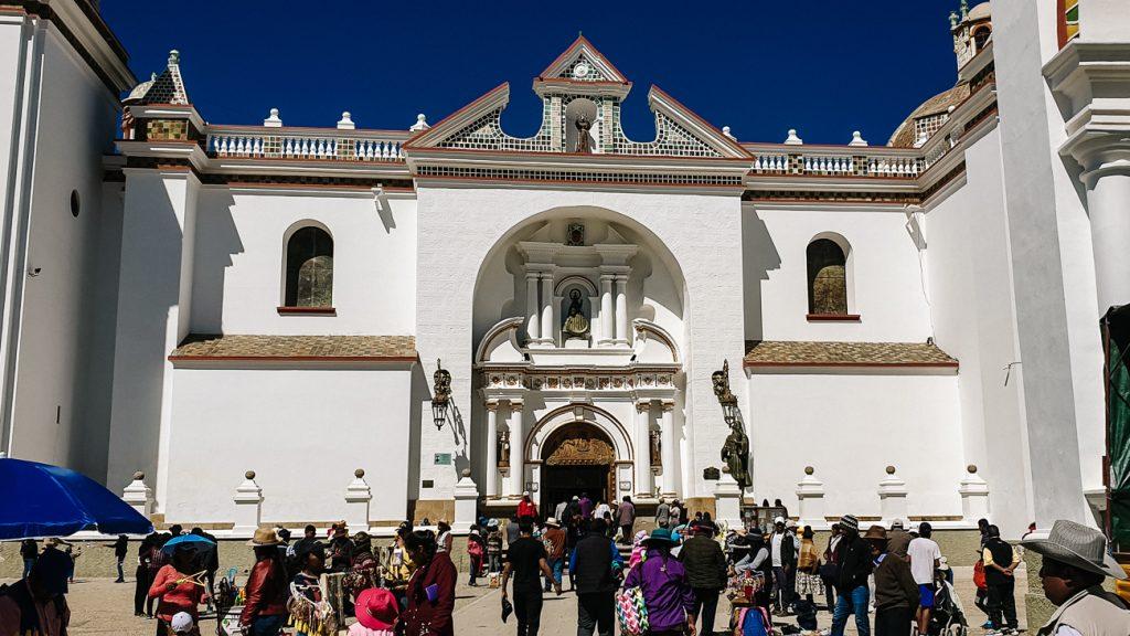 Catedral Virgen de la Candelaria in Copacabana bolivia