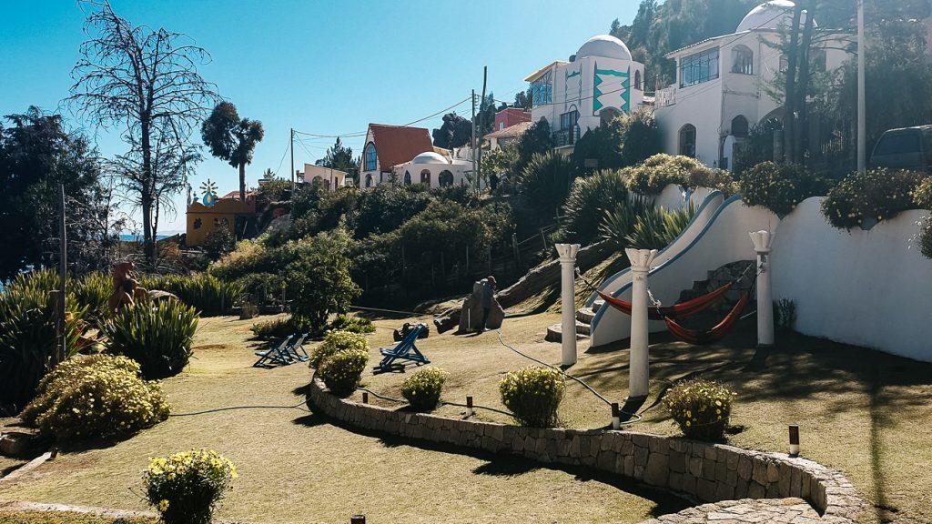 hotel la cupula in Copacabana bolivia