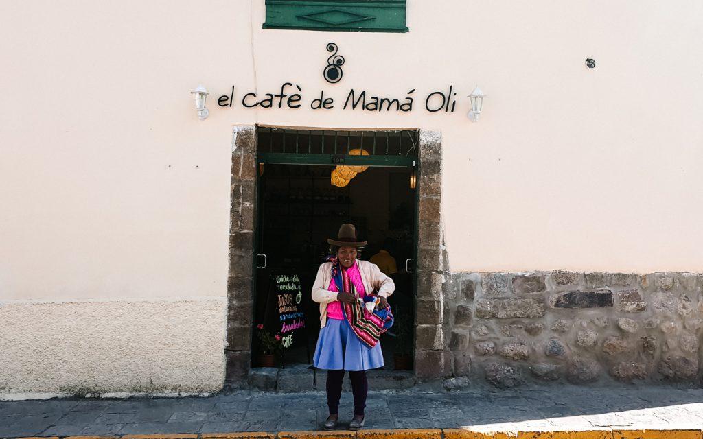 best cafes in Cusco Peru Mama oli