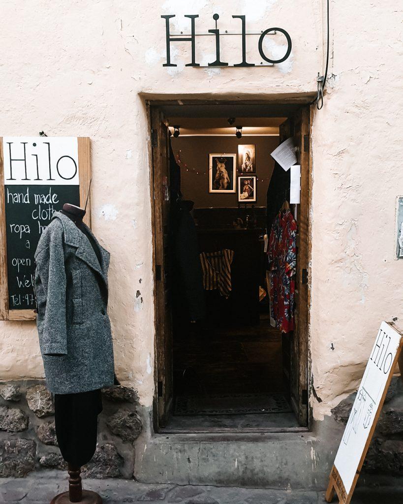 Shoppen in Cuzco Peru
