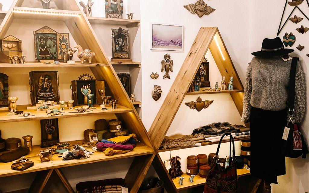 Shops in Cuzco Peru