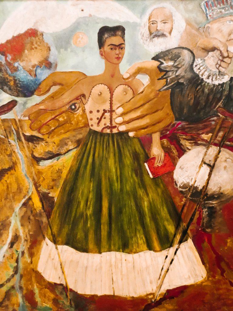frida kahlo in La casa azul