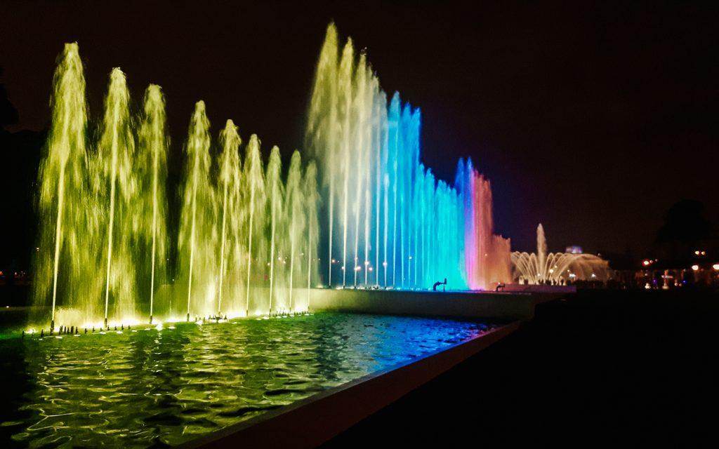 Enjoy Circuito Magico del Agua fountain show