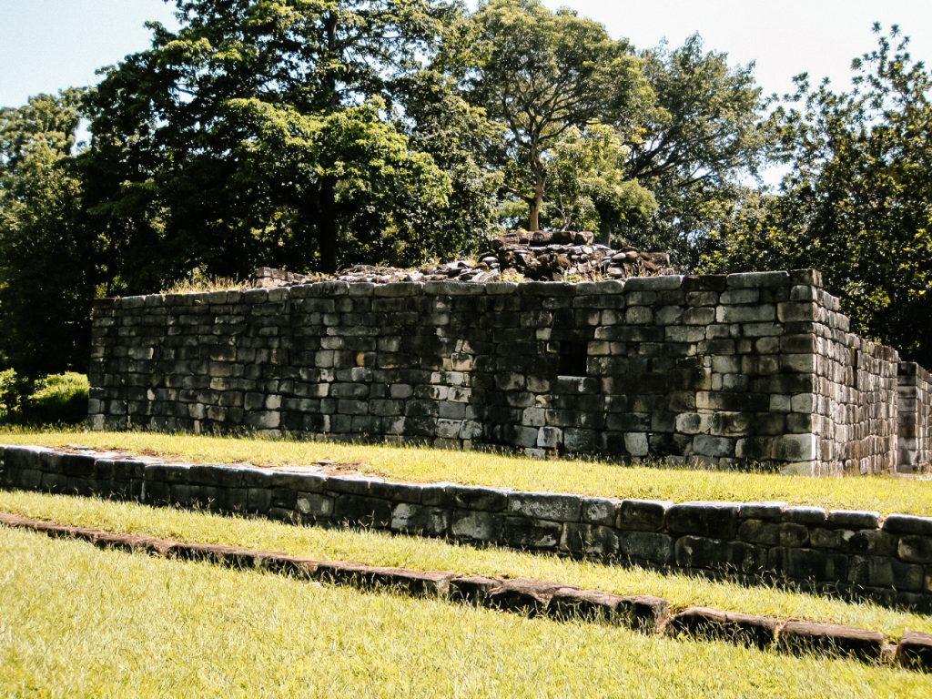 Quirigua ruins