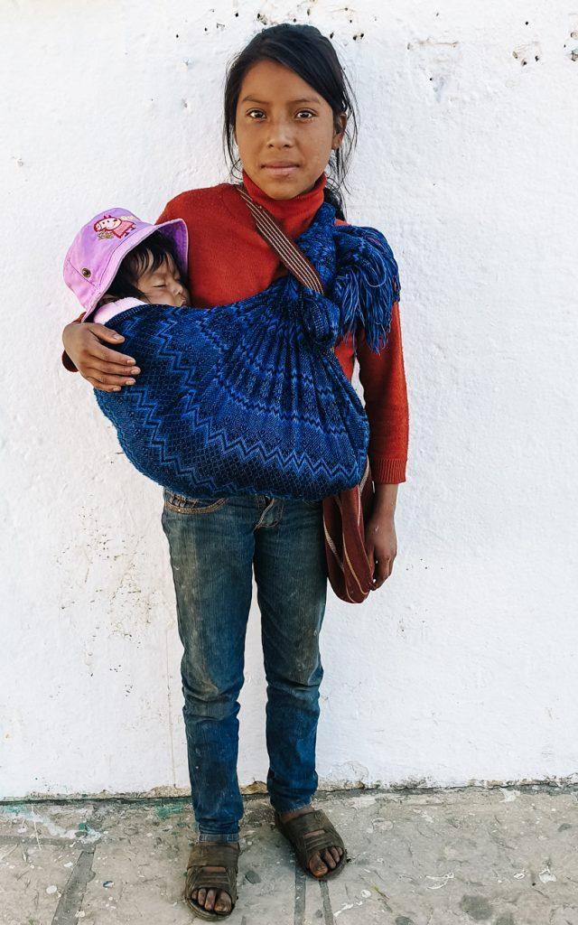 kinderen in zinacantan