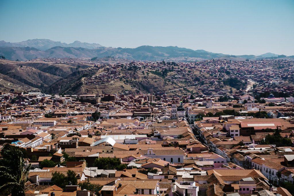 Mooie uitkijkpunten in Sucre waar je uitkijkt over de hele stad
