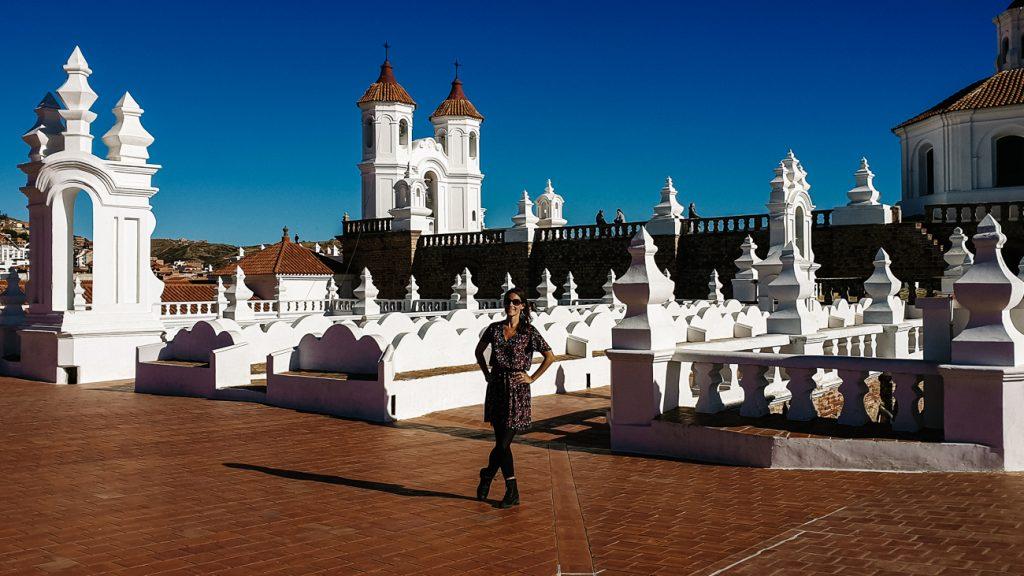 Bezoek het klooster Convento de San Felipe Neri, een van de bezienswaardigheden in Sucre Bolivia