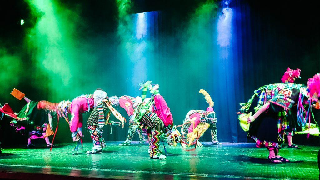 Origenes, een traditionele dansshow in Bolivia