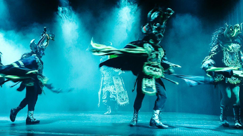 Origenes, een traditionele dansshow
