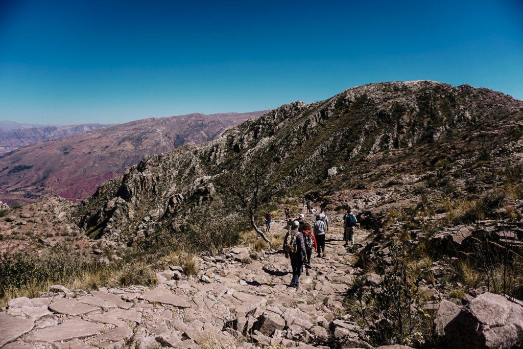 Loop de Boliviaanse Inca Trail, een van de mooiste bezienswaardigheden
