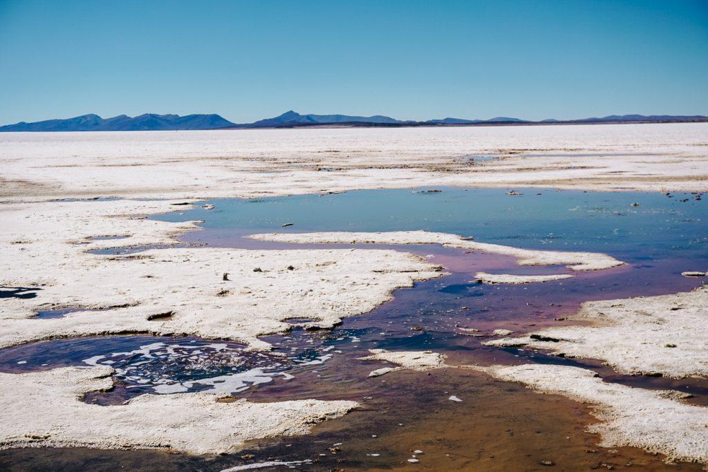 Salar de Uyuni Bolivia ojos de salar