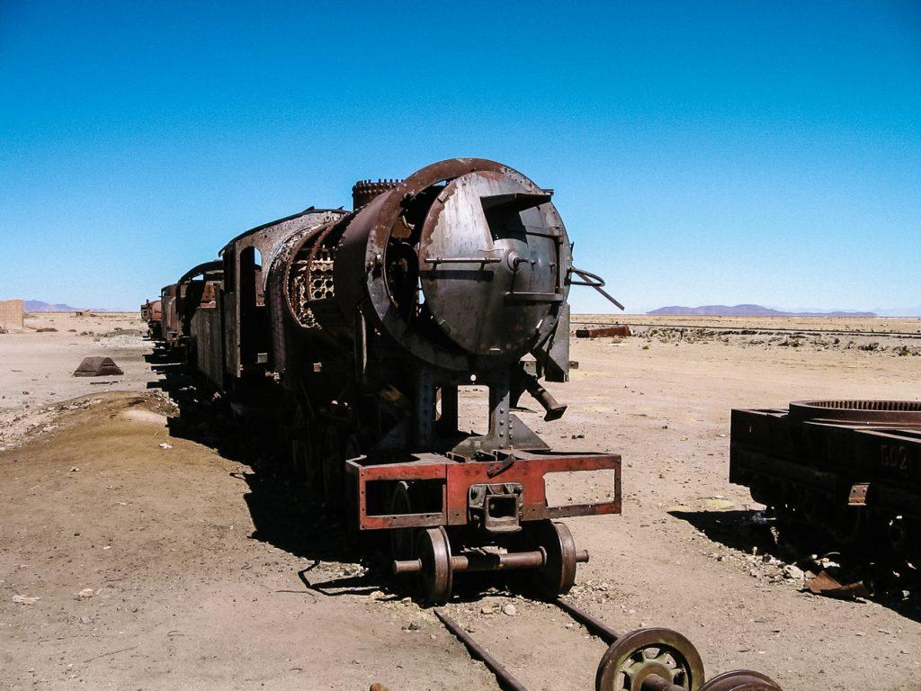 cementerio de trenes