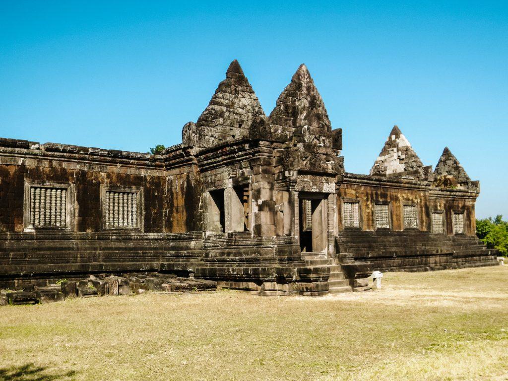 Wat Phu Laos Paviljoens
